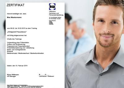 HSP-Zertifikat